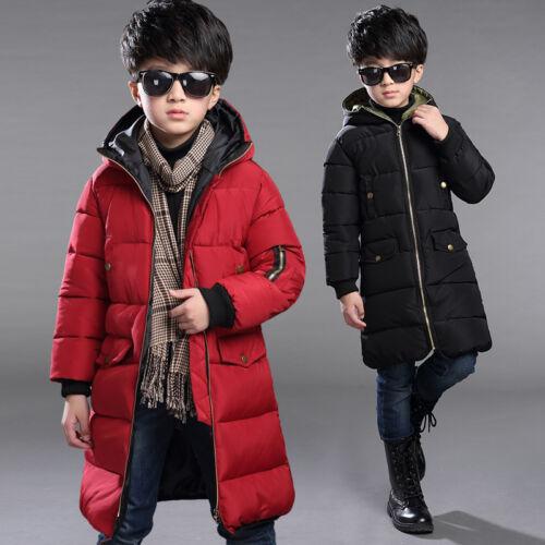 Junge Kleinkind Winter Outfit Warmer Mantel Extra Warm Jacke puffer schneeanzug