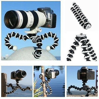 New Medium Size Octopus Flexible Tripod Stand Holder for Canon Digital Camera DV