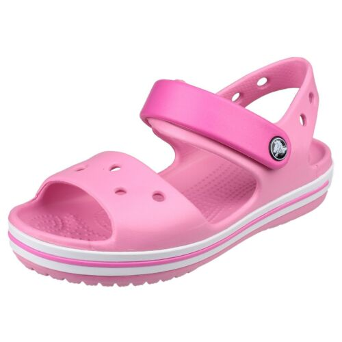 Crocs Crocband Sandals Summer Strap Croslite Childrens Kids Boys Girls Shoes