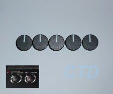 Laney Pro Lead AOR 50 or 100 Guitar Amplifier Control Knob Caps (5) NEW