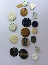 Lot cadran montres dial Slava Poljot Raketa Vostok Zim Komandirskije wristwatch