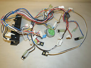 microwave oven latch board body amp wiring harness amp image is loading microwave oven latch board body amp wiring harness