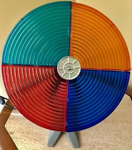BRAND NEW Rotating Color Wheel! Works Great! For Silver Aluminum Christmas Trees   eBay