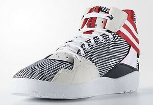 premium selection af0f8 2f815 Image is loading ADIDAS-CRESTWOOD-MID-BASKETBAL-SNEAKERS-MEN-SHOES-BLACK-