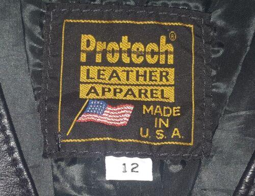 New Vest Roses Vintage Red Black Renewal Leather 12 Size Urban Women's H7xHq4wF6