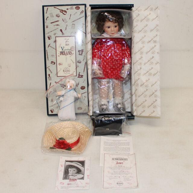 "Ashton Drake Knowles Porcelain Doll ""Janey"", 15"" MIB NRFB w/ CoA, 76302"