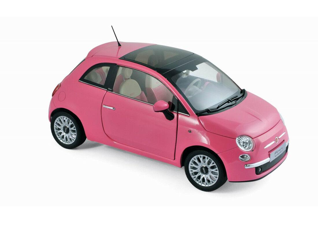 Fiat 500 So Pink Edition (2010) Norev Model Model Model 1 18 0514af