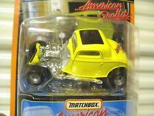 MATCHBOX 1998 SPECIAL EDITION #17 AMERICAN GRAFFITI STAR CAR '33 FORD CPE NuBXD*