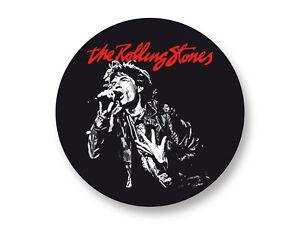 Sleutelhangers Porte clé Keychain Ø45mm Rolling Stones Tongue Langue UK Mick Jagger The Stones