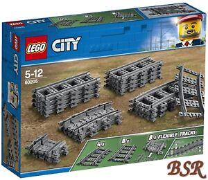 LEGO City 60205 Schienen NEU und OVP