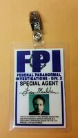 X-files Tv Series Id Badge-fox Mulder Miniseries Costume Prop Cosplay