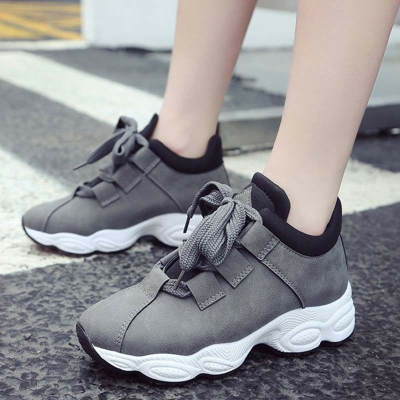 Women's Casual Breathable Sneakers Sports shoes Outdoor Running Walking New Size