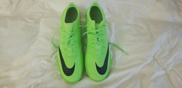 d25619dca Nike Mens MercurialX Finale II IC Soccer Shoes 11 Flash Lime Green ...