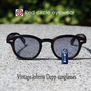 2ba5b079c04 Image is loading Vintage-Johnny-Depp-sunglasses-mens-tortoise-glasses -purple-