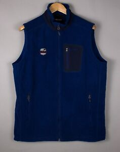 Marmot-Hommes-Polartec-Zip-Fleece-Gilet-Gilet-Gilet-Taille-L-ATZ1167