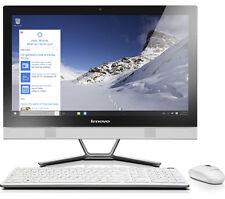 """LENOVO C50-30 23"""" all-in-One PC Processore Intel Core i5-5200u 2.2GHz DUAL CORE windows 10"""