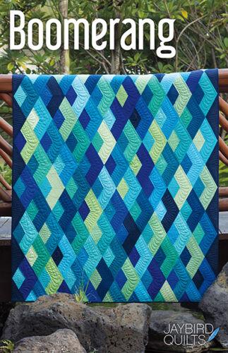 Boomerang Quilt Pattern ~ Julie Herman Jaybird Quilts uses Super Sidekick ruler