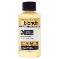 JEROME RUSSELL BBLONDE 40 VOL MAXIMUM CREAM PEROXIDE 75ML *