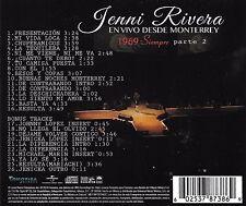 1969: Siempre, En Vivo Desde Monterrey Parte 2 [7/1] by Jenni Rivera (CD,...