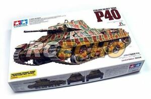 Tamiya-Military-Model-1-35-Italian-Heavy-Tank-P40-Scale-Hobby-89792