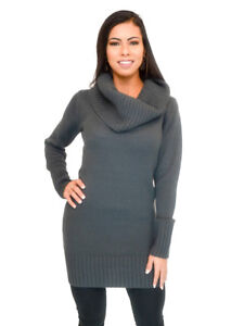 Vivian-039-s-Fashions-Dress-Turtle-Neck-Knit-Sweater