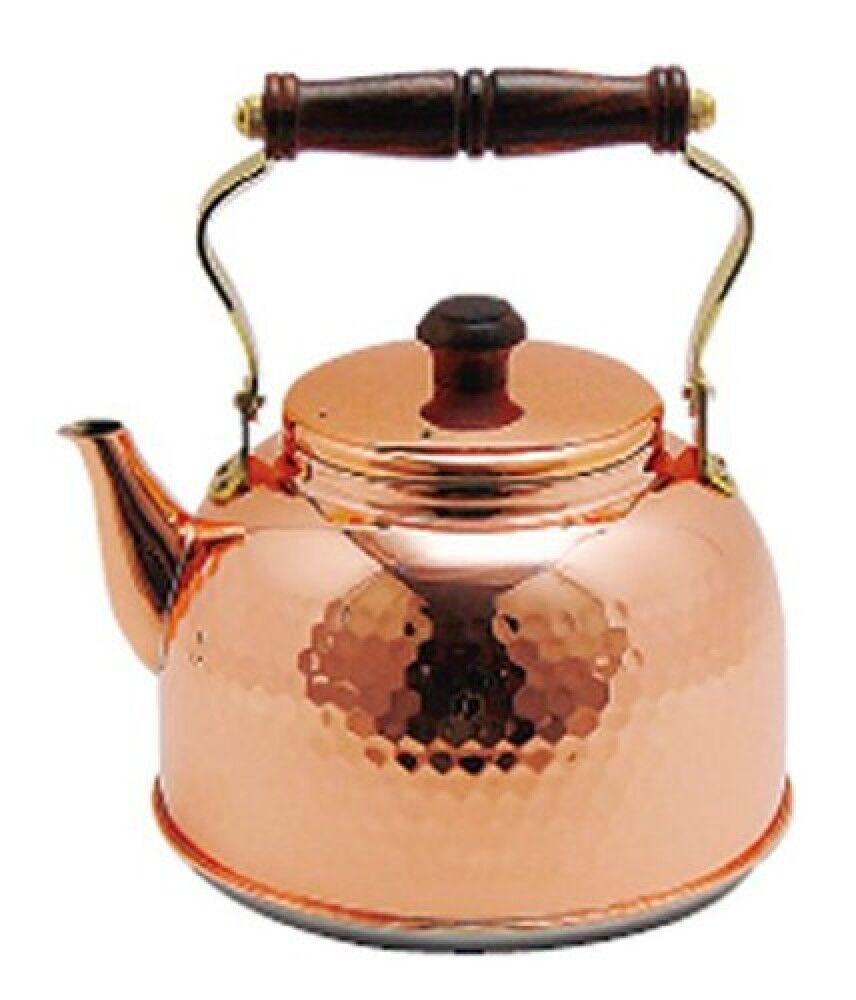 New  Shinkodo Pure copper kettle 2.3L Electromagnetic cooker IH 517 from Japan