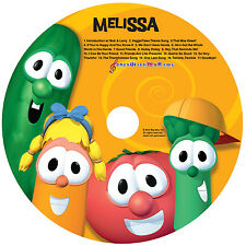 Veggie Tales Personalized Sing-A-Long CD ~ GREAT GIFT - won't find in stores!