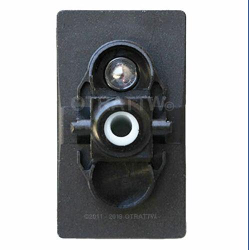 SEAT HEATER OTRATTW Carling Technologies Contura II Rocker Switch BLUE LENS