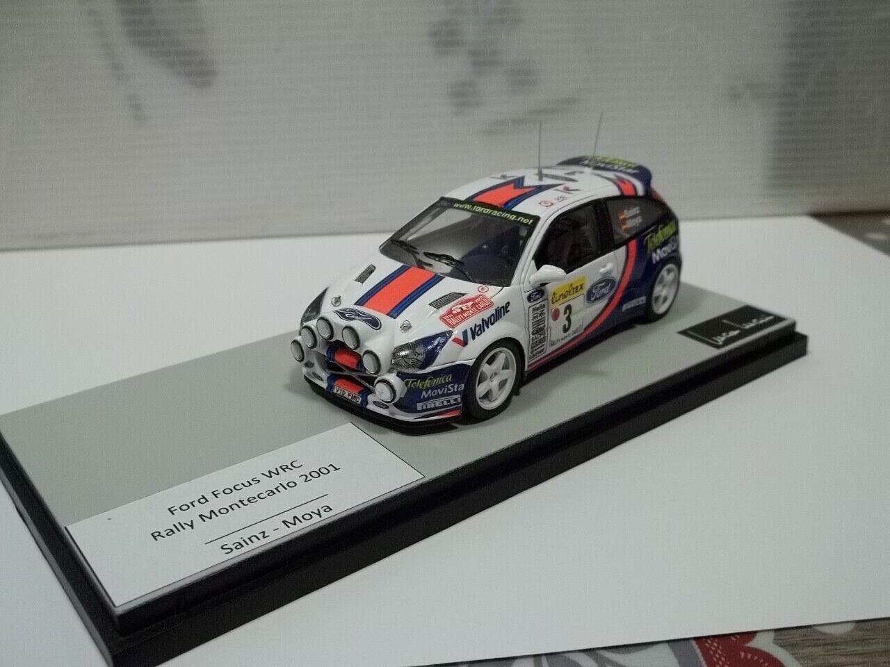 diseños exclusivos Provence moulage,sc1 43 ford focus wrc wrc wrc monteCochelo 2001 sainz  barato