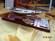 BREITLING ERIC TABARLY PEN DUICK DATE QUARTZ 80770 GOLD SS BOX WATERTIGHTNESS