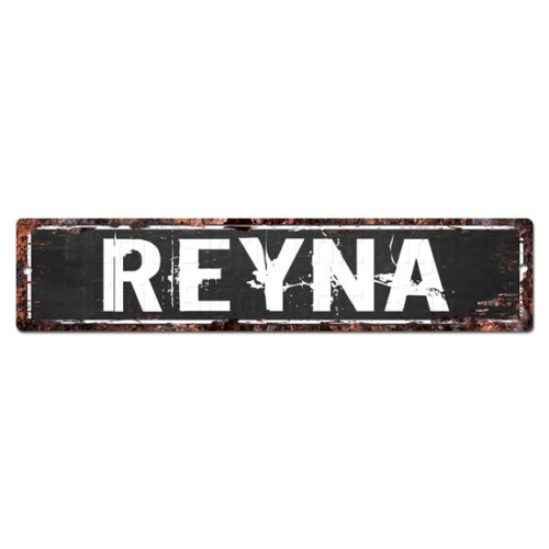 SLND1181 REYNA MAN CAVE Street Rustic Chic Sign Home man cave Decor Gift