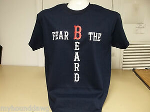 World-Series-Champions-Fear-The-Beard-Boston-Red-Sox-T-Shirt-Choice-of-Color