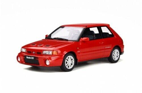 Mazda 323 GT-R Red OT255 1 18 Otto Models