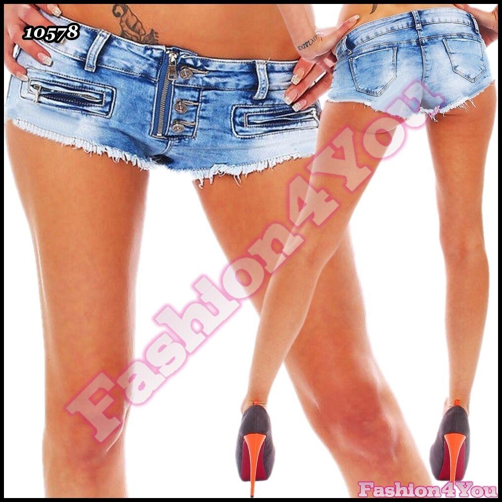 Femme Sexy Short en jean femme Summer Casual Pantalons Sexy UK Taille 6,8,10,12,14 UK Sexy 732e99