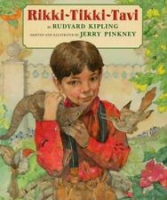 Rikki-Tikki-Tavi by Jerry Pinkney and Rudyard Kipling (1997, Hardcover)