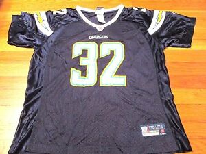 Details about WOMEN'S REEBOK NFL SAN DIEGO CHARGERS ERIC WEDDLE JERSEY SIZE XL