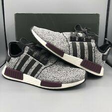 29c0e0a6635d8 Adidas NMD R1 Champs Exclusive Grey Static Wool Burgundy Size 11.5 B39506  Yeezy