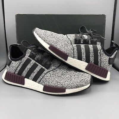 sports shoes d7502 d0f56 Adidas NMD R1 Champs Exclusive Grey Static Wool Burgundy ...