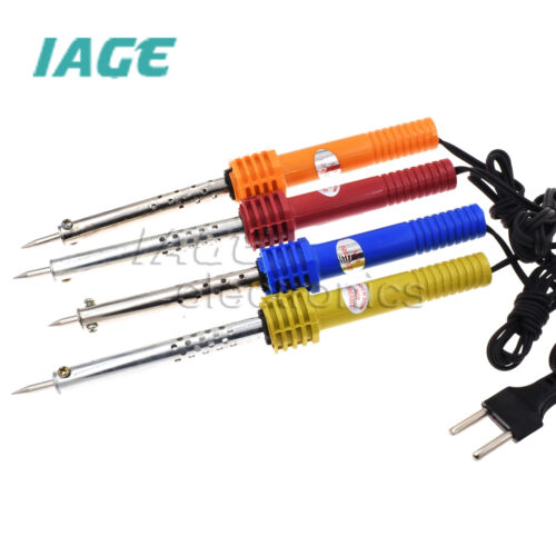 AC 220V 40//60W Electric Löten Iron Welding Tool Pencil Gun EU Plug Random Color