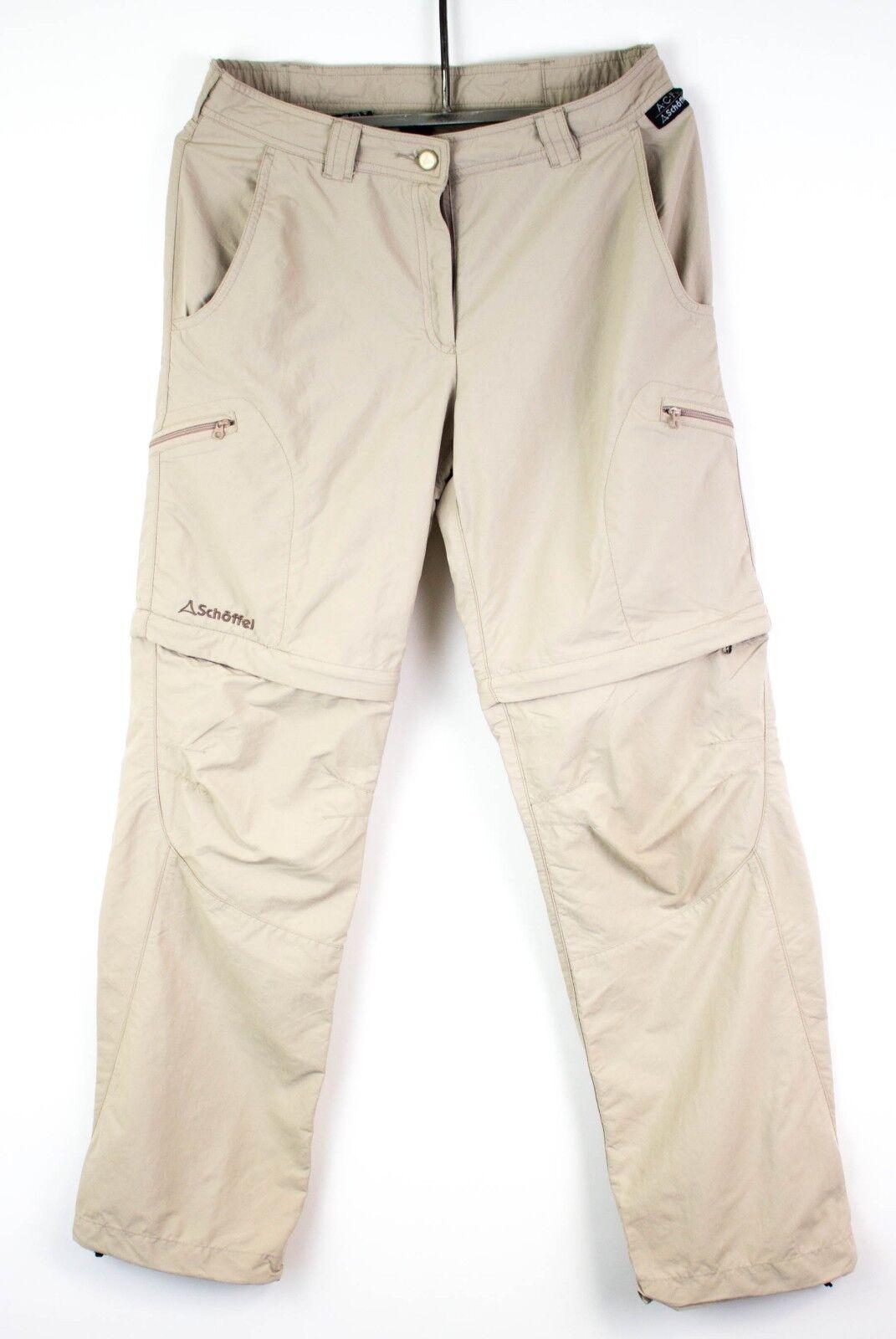 Schoffel women Pantaloni Staccabile Shorts Cz781 Active Comodi Misura