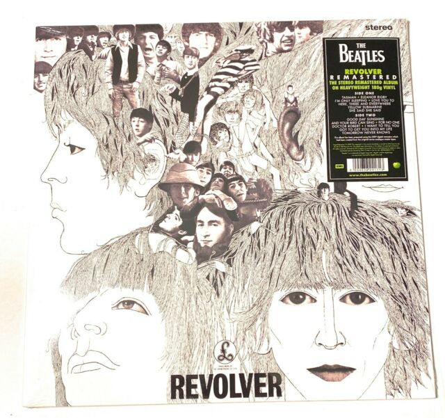 Revolver [Remastered] [LP] by The Beatles Vinyl, 2012, EMI  NEW SEALED