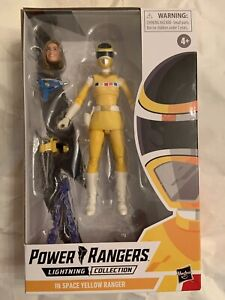 Power Rangers Lightning Collection In Space Yellow Ranger Hasbro / New