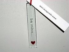 "Spaceform ""Be Mine"" Polished Glass Ornament~Spaceform London~NIB"