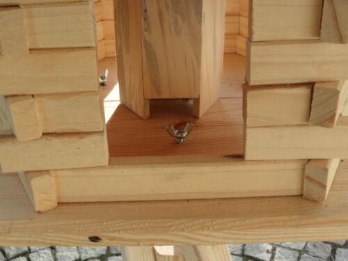 Vogel Vogelhaus Ständer Vogelhäuschen Futterhaus Futterhäuschen Nagelneu