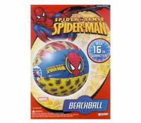 Lot 10 Spiderman Inflatable Pool Beach Balls Toys Party Favors Birthday 3+
