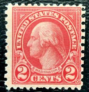 1923 US Stamp SC#579 2c Washington Mint LH/OG