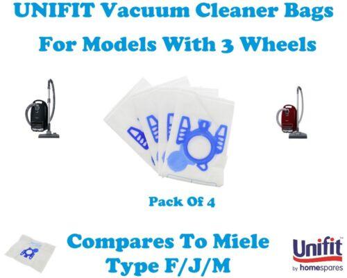 Miele S4282 Unifit Aspirapolvere Sacchetto Per Aspirapolvere Miele Tipo G//N 4PK S4282 H.E.P.A.