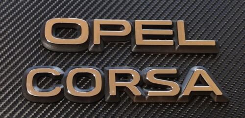 Reproduction  Opel And  Corsa Badge