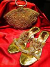 Indian Necklace Earrings Tikka Set Bollywood Diwali Party Wear White & Gold #52