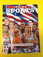 1992 Inside Sports Special USA Olympic Basketball issue  Dream Team  Jordan Bird